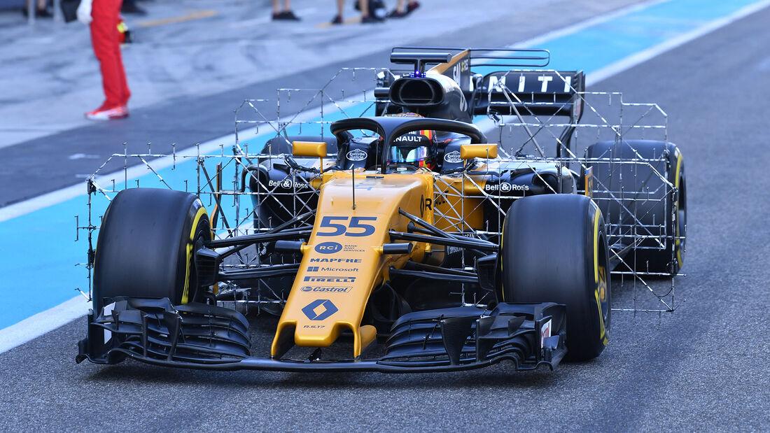 Carlos Sainz - Renault - Formel 1 - Abu Dhabi - Test 2 - 29. November 2017
