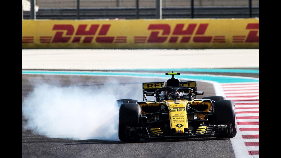 Carlos Sainz - Renault - Formel 1 - GP Abu Dhabi  -24. November 2018