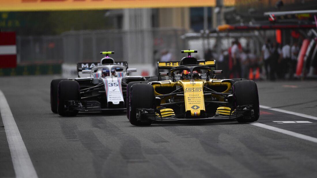 Carlos Sainz - Renault - Formel 1 - GP Aserbaidschan - 28. April 2018