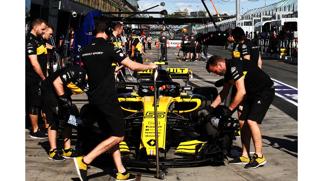 Carlos Sainz - Renault - Formel 1 - GP Australien - Melbourne - 23. März 2018