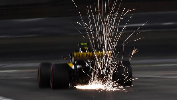 Carlos Sainz - Renault - Formel 1 - GP Bahrain - 7. April 2018