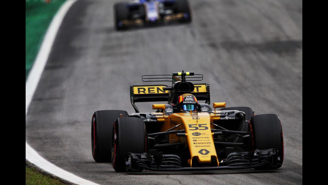 Carlos Sainz - Renault - Formel 1 - GP Brasilien - 11. November 2017