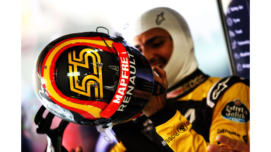 Carlos Sainz - Renault - Formel 1 - GP China - Shanghai - 13. April 2017