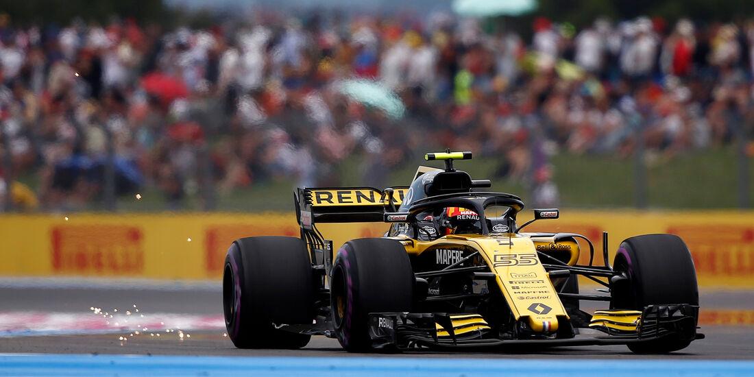 Carlos Sainz - Renault - Formel 1 - GP Frankreich - Circuit Paul Ricard - Le Castellet - 23. Juni 2018