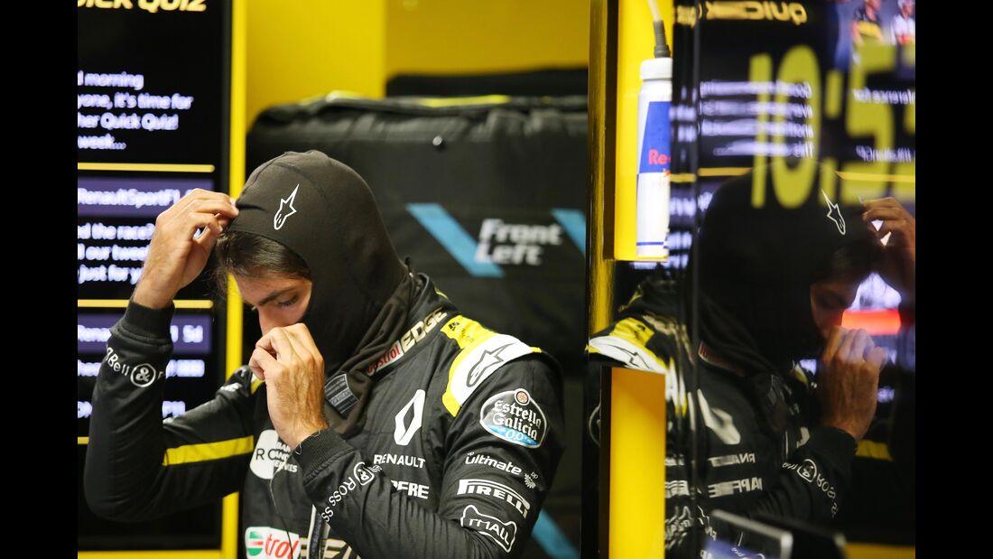 Carlos Sainz - Renault - Formel 1 - GP Italien - 31. August 2018