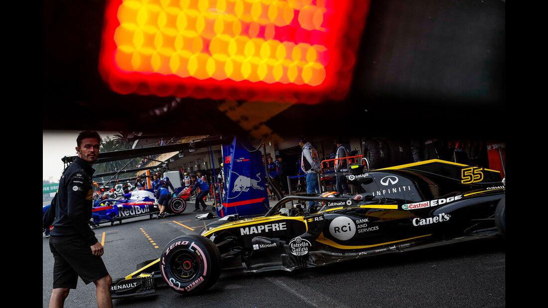 Carlos Sainz - Renault - Formel 1 - GP Mexiko - 27. Oktober 2018