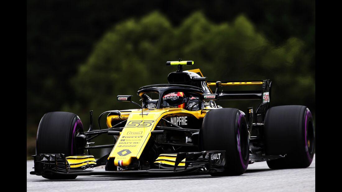 Carlos Sainz - Renault - Formel 1 - GP Österreich - 29. Juni 2018