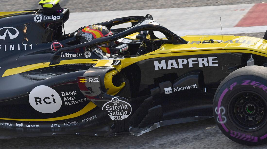 Carlos Sainz - Renault - Formel 1 - GP Singapur - 14. September 2018