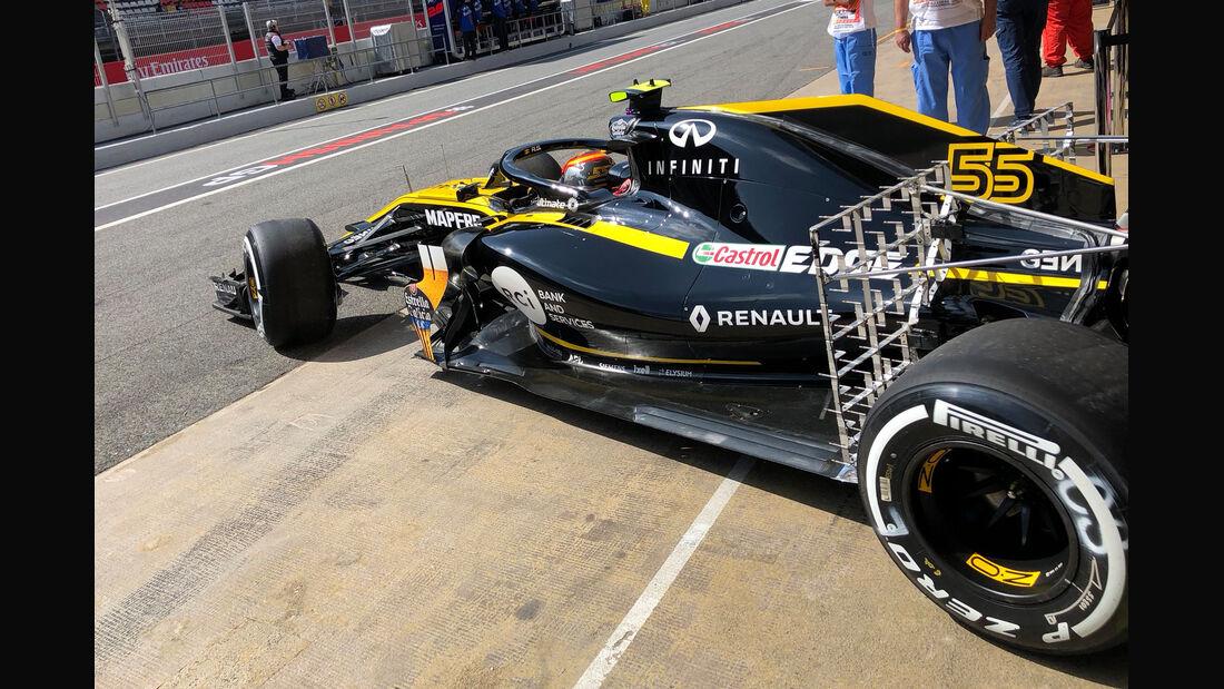 Carlos Sainz - Renault - Formel 1 - GP Spanien - Barcelona - 11. Mai 2018