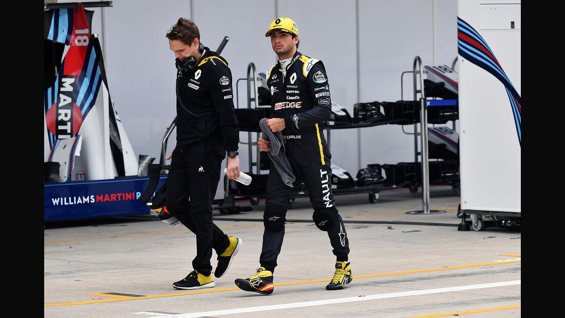 Carlos Sainz - Renault - Formel 1 - GP USA - Austin - 20. Oktober 2018