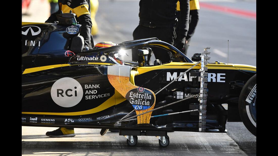 Carlos Sainz - Renault - Formel 1 - Testfahrten - Barcelona - Dienstag - 15.5.2018