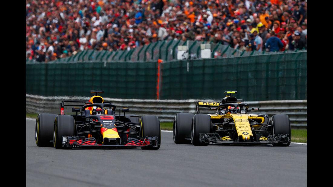 Carlos Sainz - Renault - GP Belgien 2018 - Spa