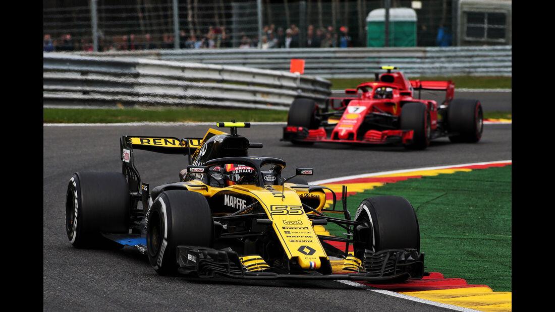 Carlos Sainz - Renault - GP Belgien - Spa-Francorchamps - 24. August 2018