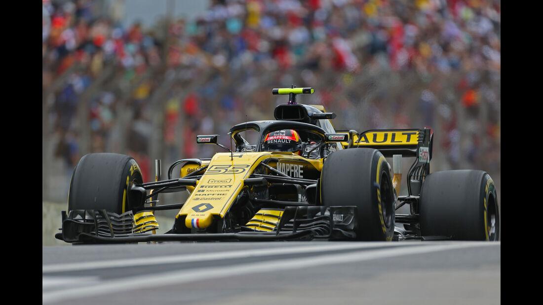 Carlos Sainz - Renault - GP Brasilien - Interlagos - Formel 1 - Samstag - 10.11.2018