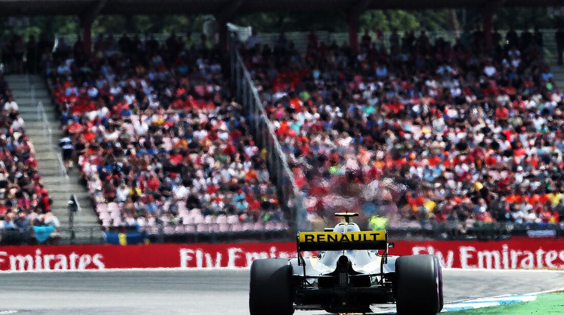 Carlos Sainz - Renault - GP Deutschland 2018 - Hockenheim - Qualifying - Formel 1 - Samstag - 21.7.2018