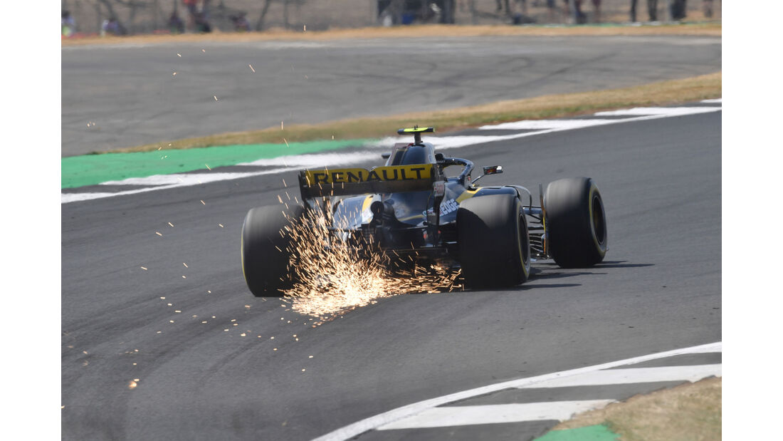 Carlos Sainz - Renault - GP England - Silverstone - Formel 1 - Freitag - 6.7.2018