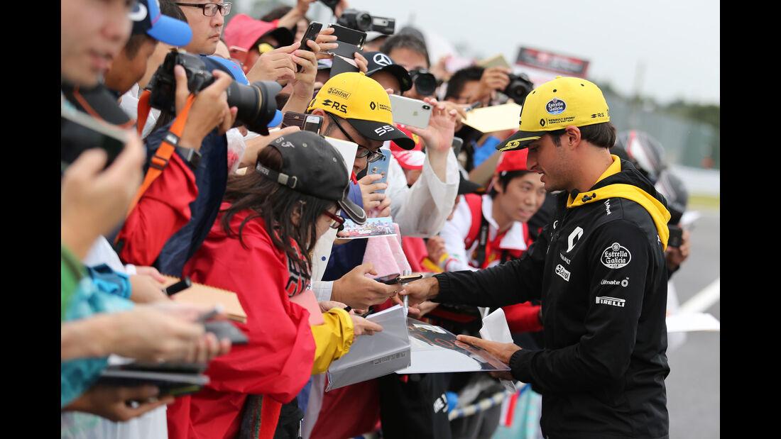 Carlos Sainz - Renault - GP Japan - Suzuka - Donnerstag - 4.10.2018