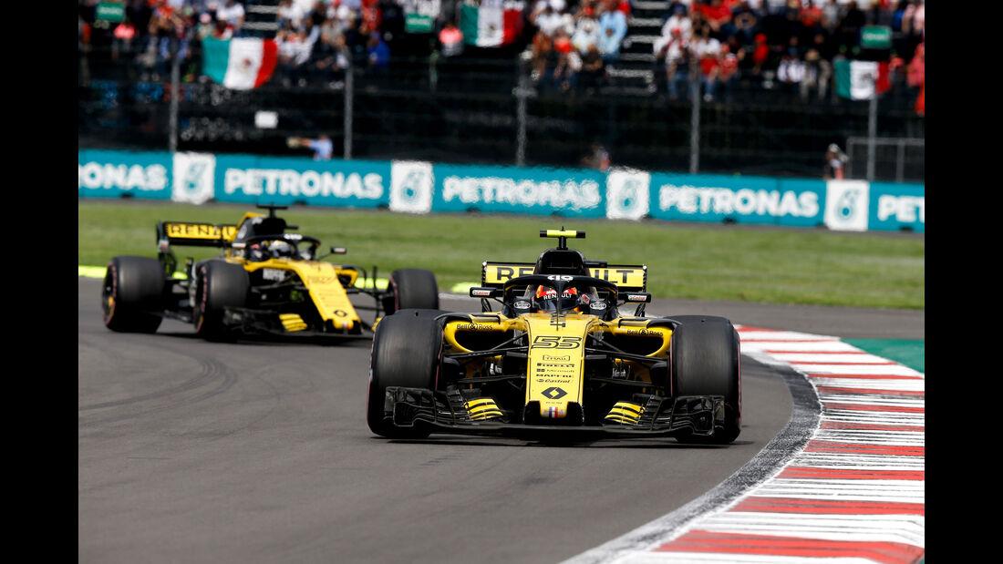 Carlos Sainz - Renault - GP Mexiko 2018