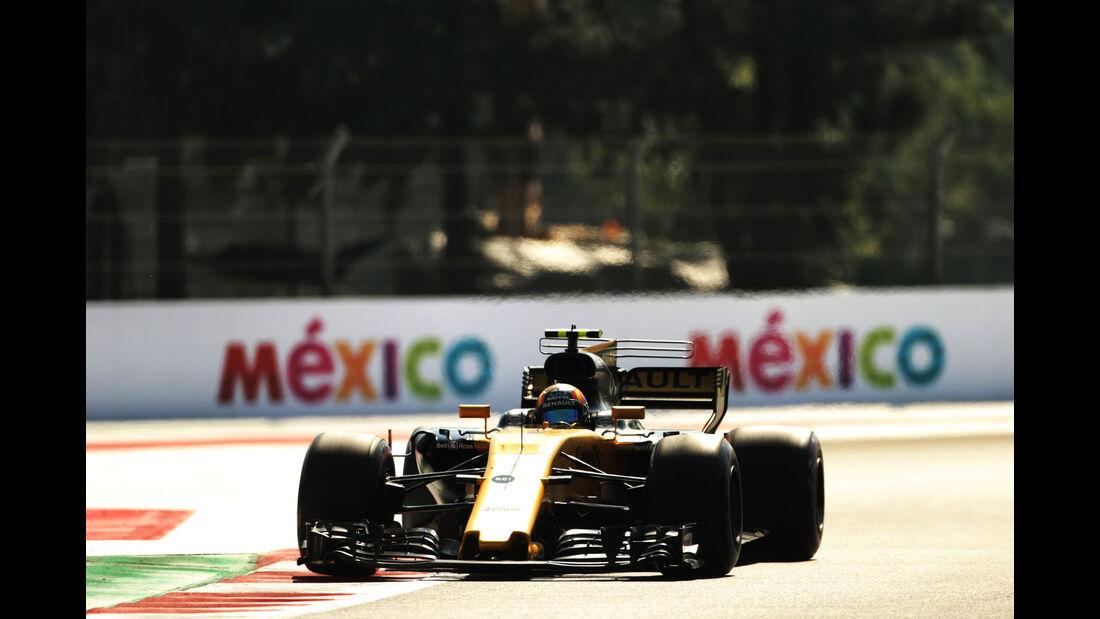 Carlos Sainz - Renault - GP Mexiko - Formel 1 - Freitag - 27.10.2017