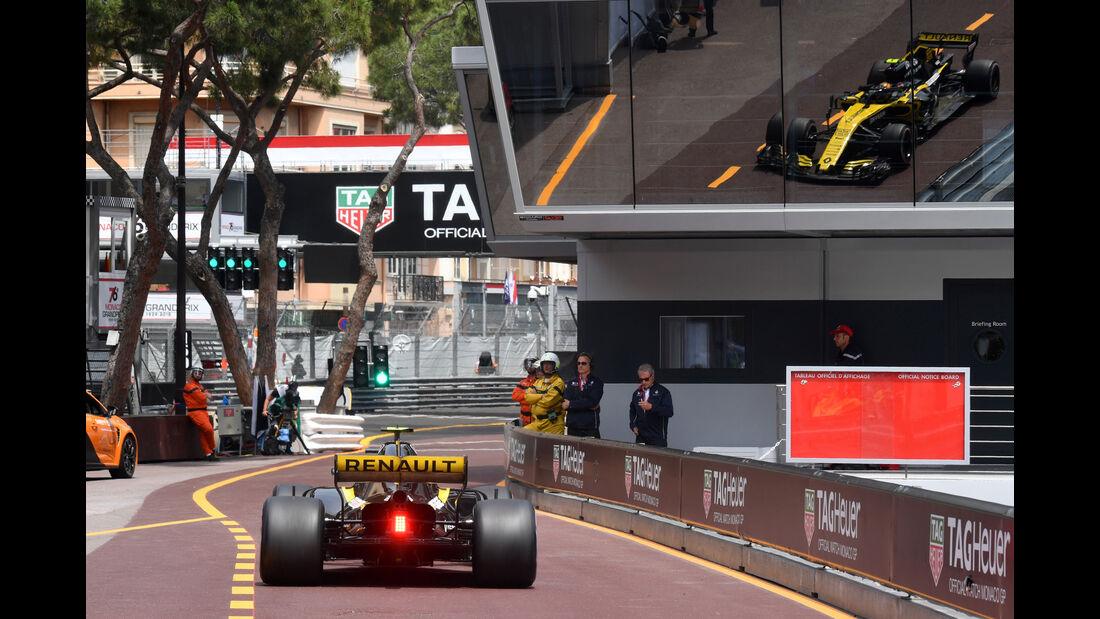 Carlos Sainz - Renault - GP Monaco - Formel 1 - Donnerstag - 24.5.2018