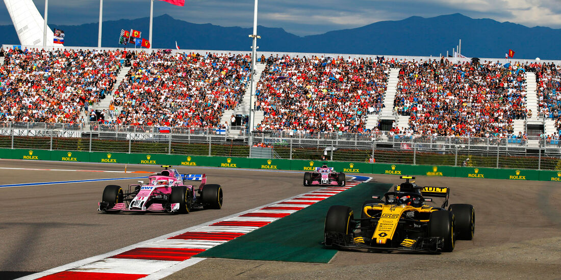 Carlos Sainz - Renault - GP Russland 2018