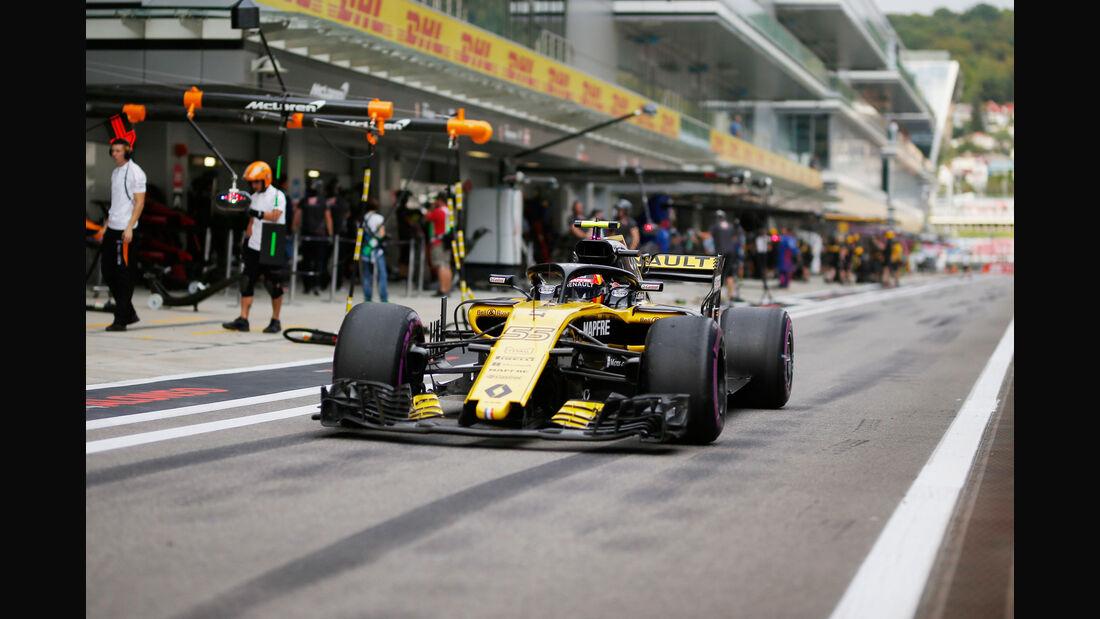 Carlos Sainz - Renault - GP Russland - Sotschi - Formel 1 - Freitag - 28.9.2018