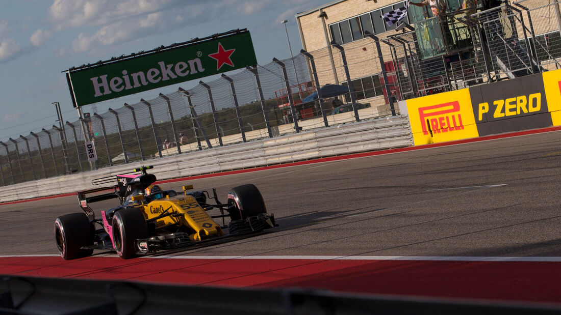Carlos Sainz - Renault - GP USA 2017 - Qualifying
