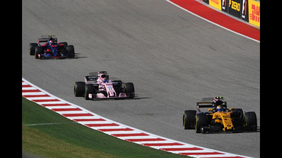 Carlos Sainz - Renault - GP USA 2017 - Rennen