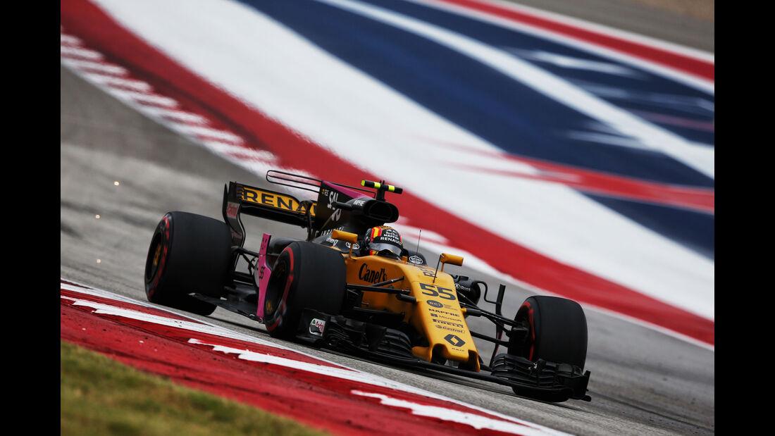 Carlos Sainz - Renault - GP USA - Austin - Formel 1 - Freitag - 20.10.2017