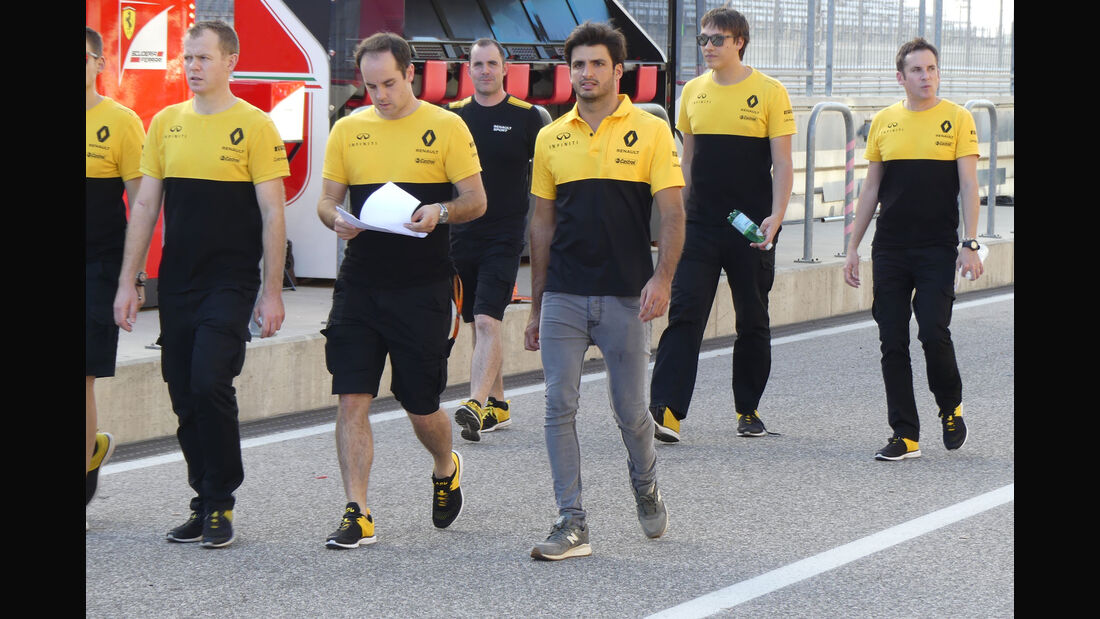 Carlos Sainz - Renault - GP USA - Austin - Formel 1 - Mittwoch - 18.10.2017