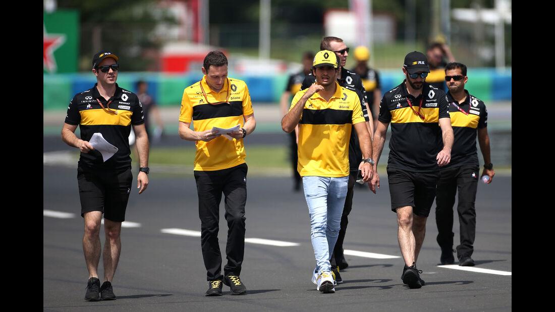 Carlos Sainz - Renault - GP Ungarn - Budapest - Formel 1 - Donnerstag - 26.7.2018