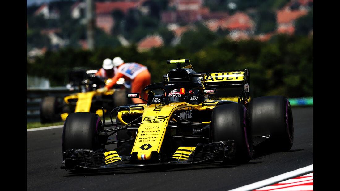Carlos Sainz - Renault - GP Ungarn - Budapest - Formel 1 - Freitag - 27.7.2018