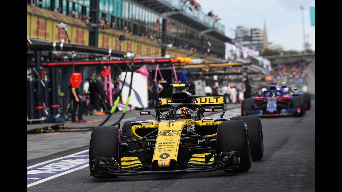 Carlos Sainz - Renault - Qualifying - GP Australien 2018 - Melbourne