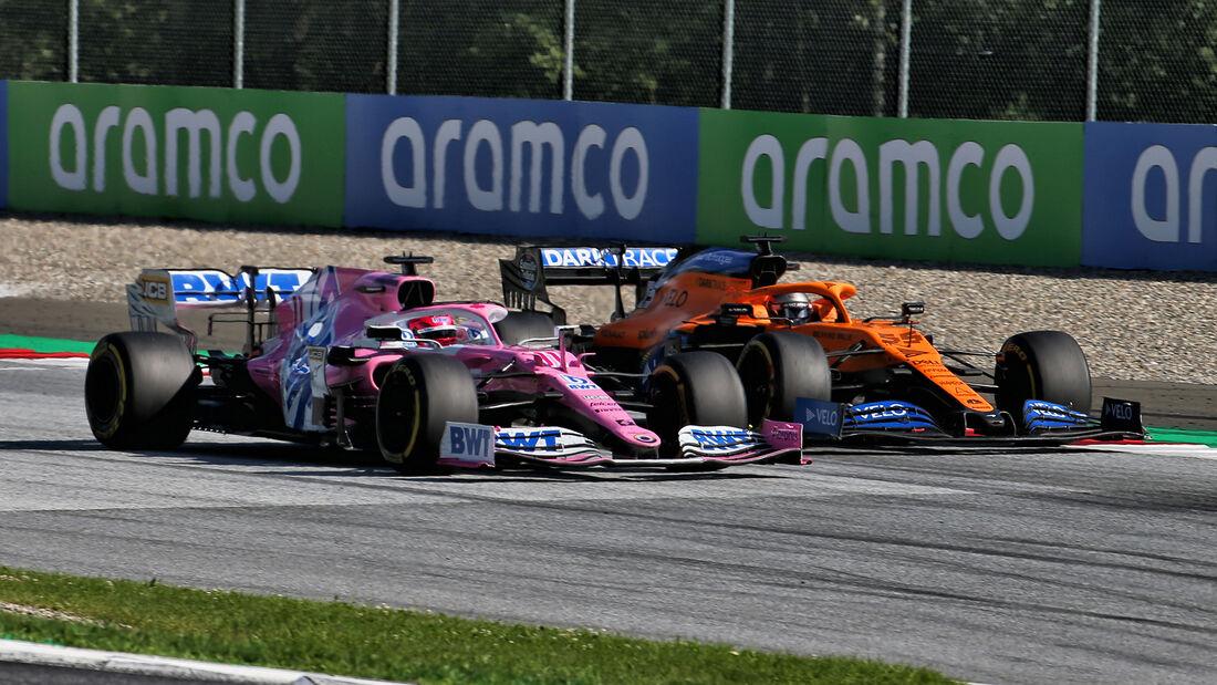 Carlos Sainz & Sergio Perez - Formel 1 - GP Österreich - Spielberg - 5. Juli 2020