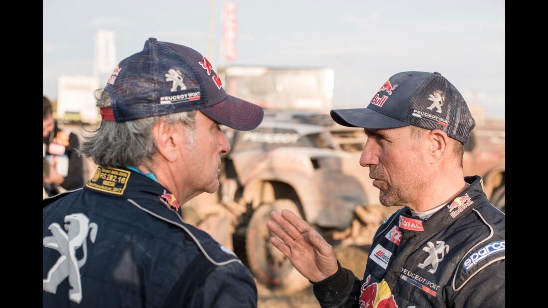 Carlos Sainz - Stéphane Peterhansel - Rallye Dakar 2018 - Motorsport