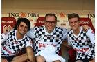 Carlos Sainz, Stefano Domenicali & Mick Schumacher - Schumacher Benefiz-Fußball-Spiel - Mainz - 27. Juli 2016