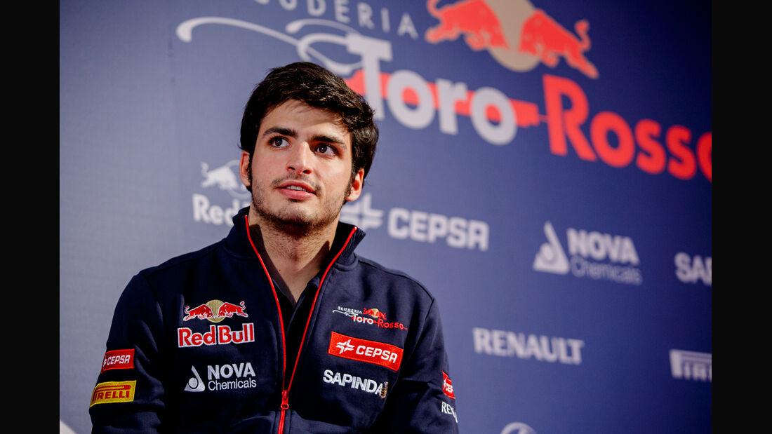Carlos Sainz - Toro Rosso - 2014