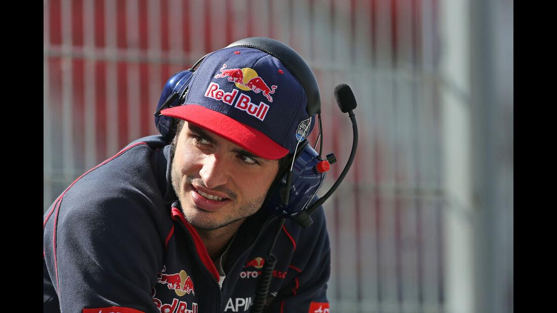 Carlos Sainz - Toro Rosso - Barcelona-Test - 12. Mai 2015