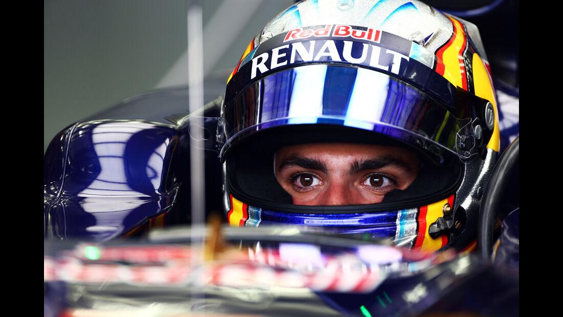 Carlos Sainz - Toro Rosso - Formel 1 - GP Bahrain - 17. April 2015