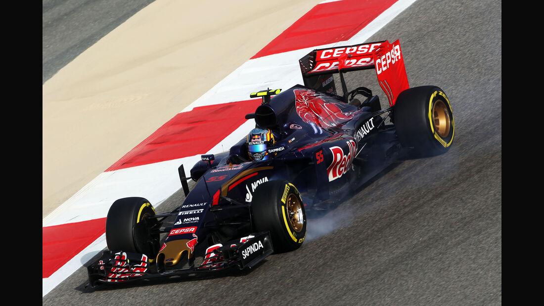 Carlos Sainz - Toro Rosso - Formel 1 - GP Bahrain - 18. April 2015