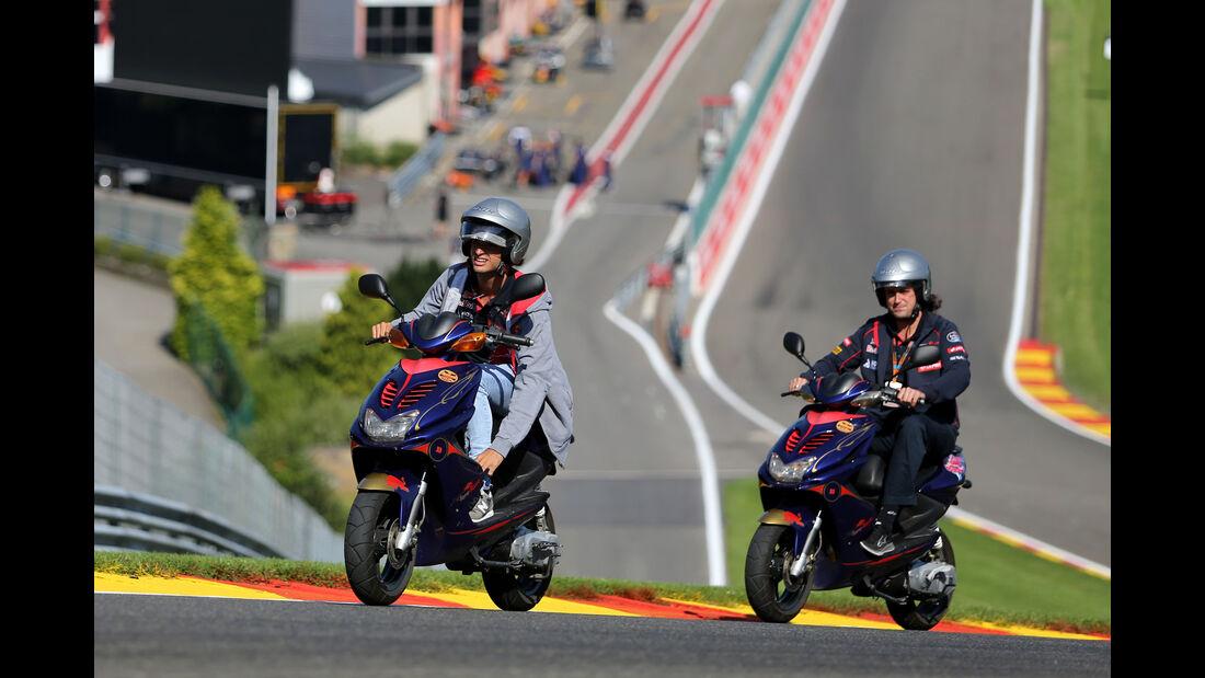 Carlos Sainz - Toro Rosso - Formel 1 - GP Belgien - Spa-Francorchamps - 20. August 2015