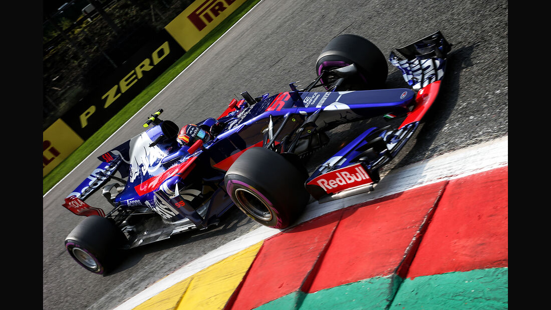 Carlos Sainz - Toro Rosso - Formel 1 - GP Belgien - Spa-Francorchamps - 26. August 2017