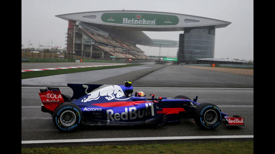 Carlos Sainz - Toro Rosso - Formel 1 - GP China 2017 - Shanghai - 7.4.2017
