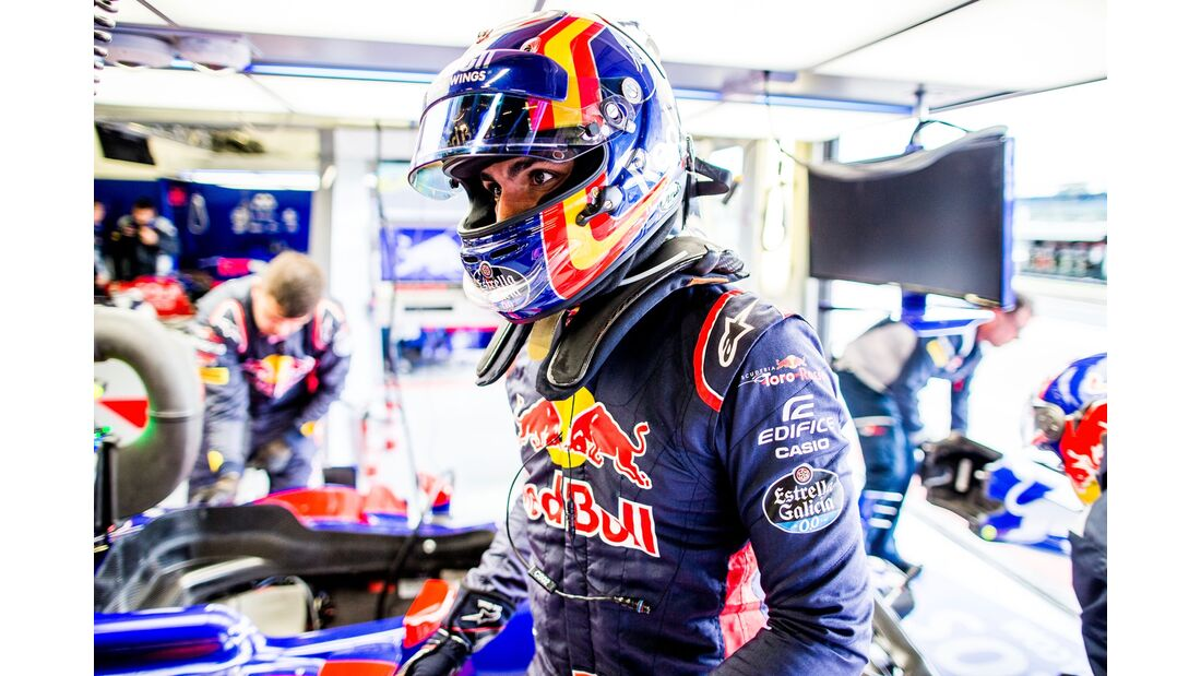 Carlos Sainz - Toro Rosso - Formel 1 - GP England - 14. Juli 2017