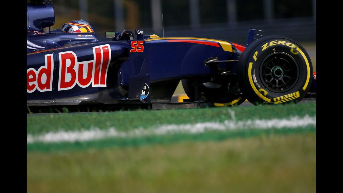Carlos Sainz - Toro Rosso - Formel 1 - GP Italien - Monza - 2. September 2016