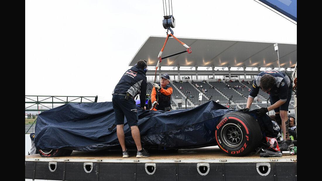 Carlos Sainz - Toro Rosso - Formel 1 - GP Japan - Suzuka - 6. Oktober 2017