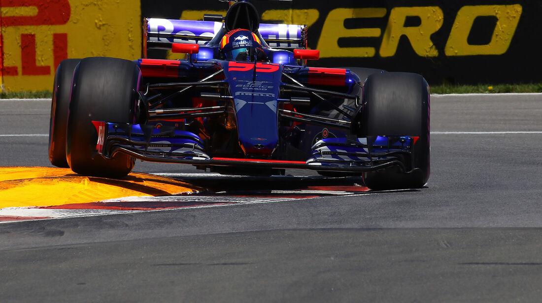 Carlos Sainz - Toro Rosso - Formel 1 - GP Kanada - Montreal - 10. Juni 2017
