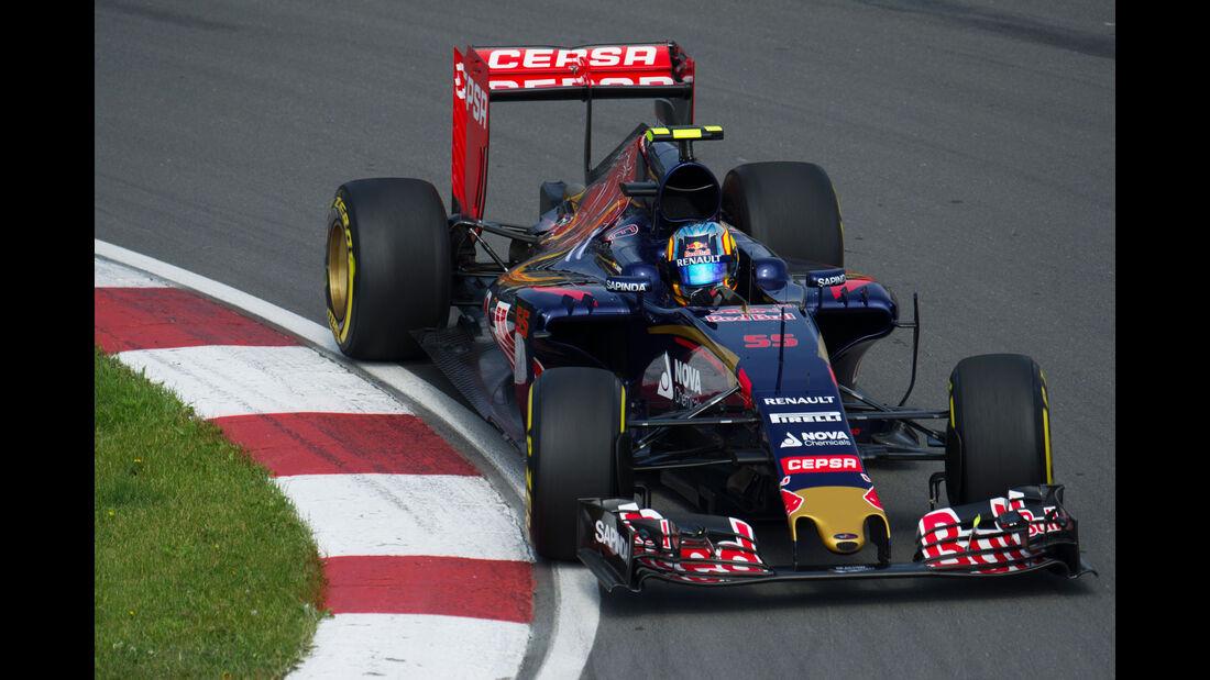 Carlos Sainz - Toro Rosso - Formel 1 - GP Kanada - Montreal - 5. Juni 2015