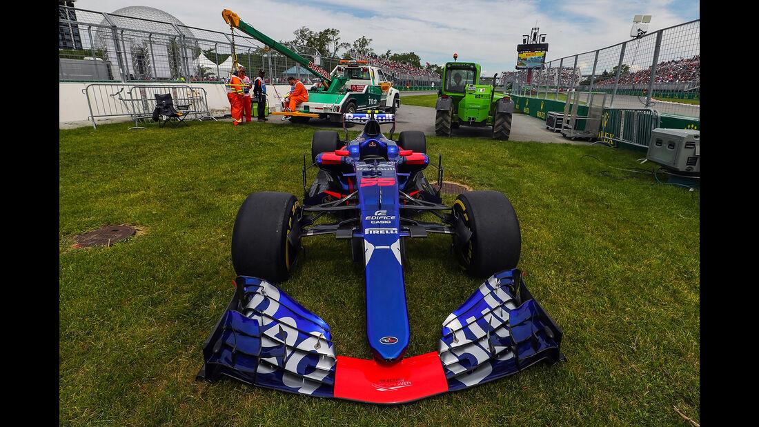 Carlos Sainz - Toro Rosso - Formel 1 - GP Kanada - Montreal - 9. Juni 2017