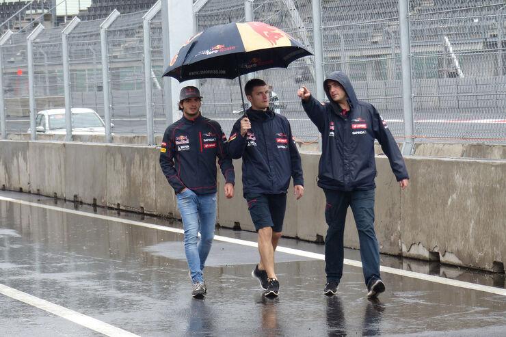 Carlos Sainz - Toro Rosso - Formel 1 - GP Mexico - 28. Oktober 2015